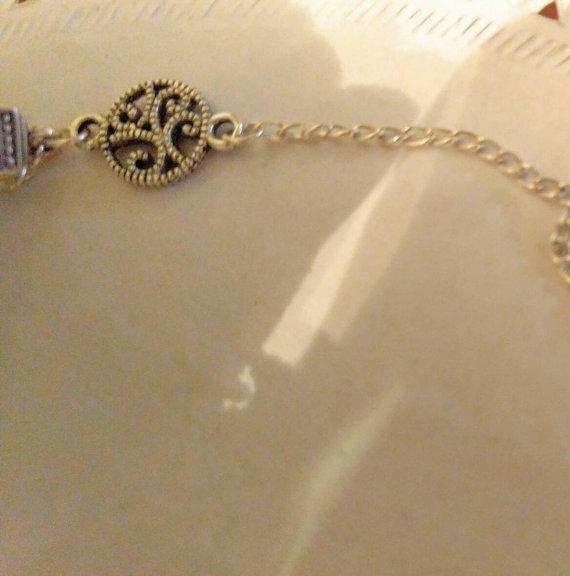 Wedding Jewelry Wedding Necklace Bridal Necklace Silk Flower And