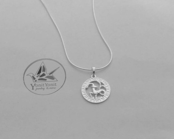 Astrology Necklace Yonit
