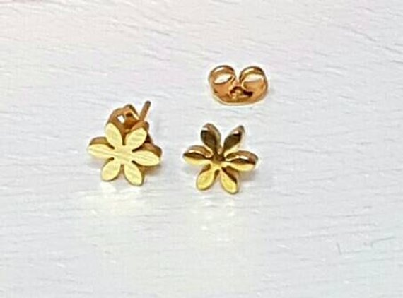 Gold Earrings Design Pictures
